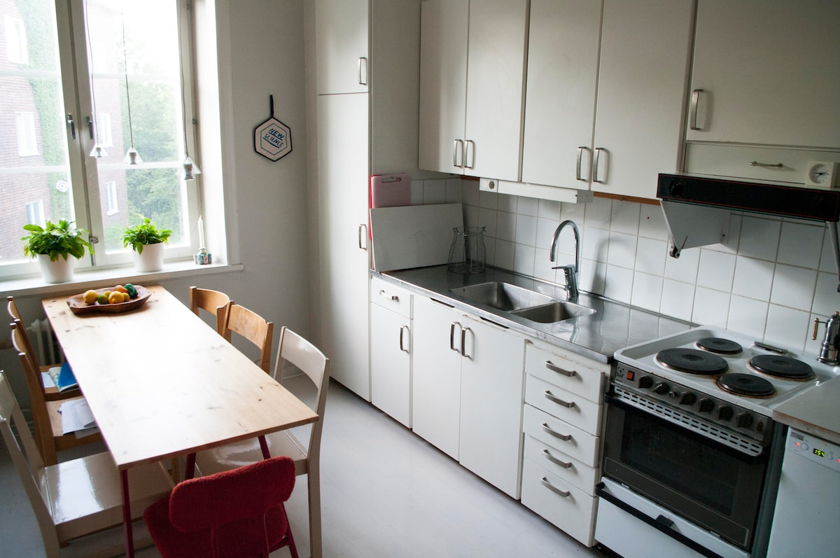 2 Room apartment, central location