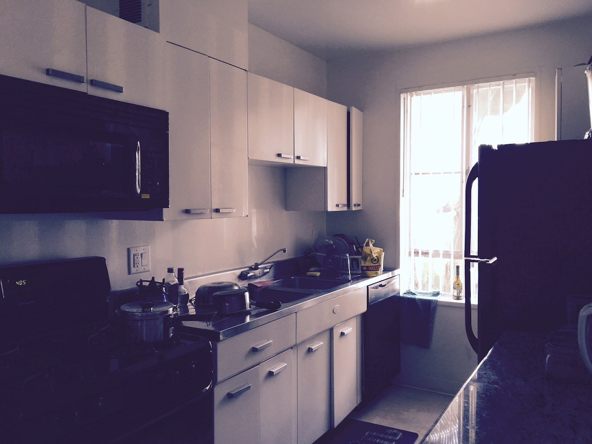 Clean, Sunny and central apartment