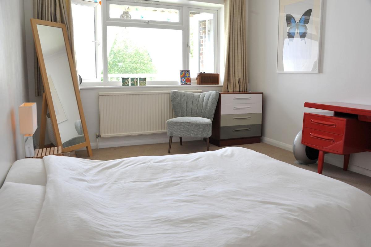 Fresh, quiet, spacious double room