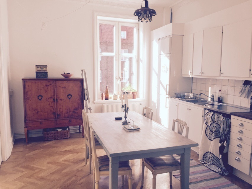2 room appartment in central Malmoe