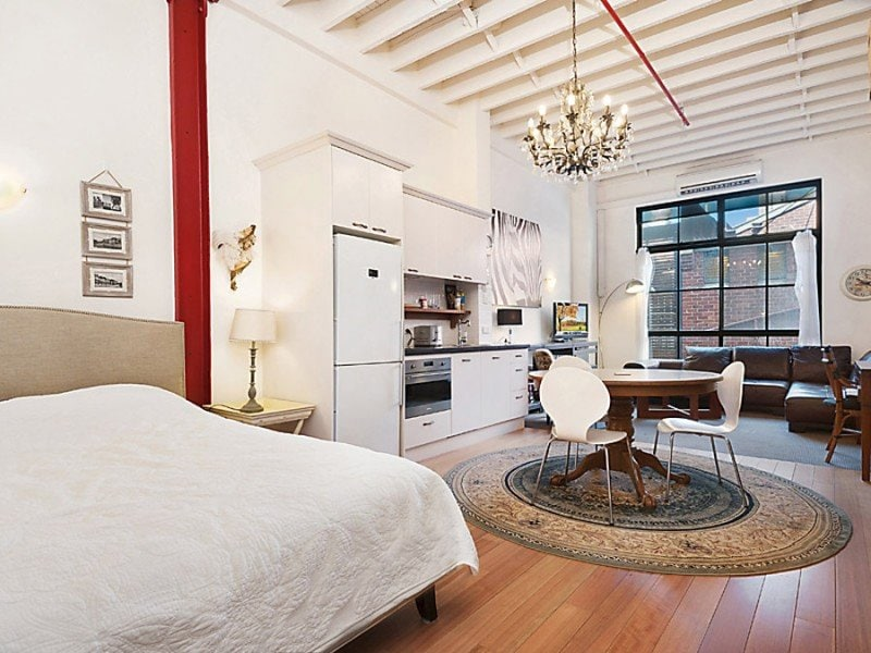 New!  Loft style apartment in CBD