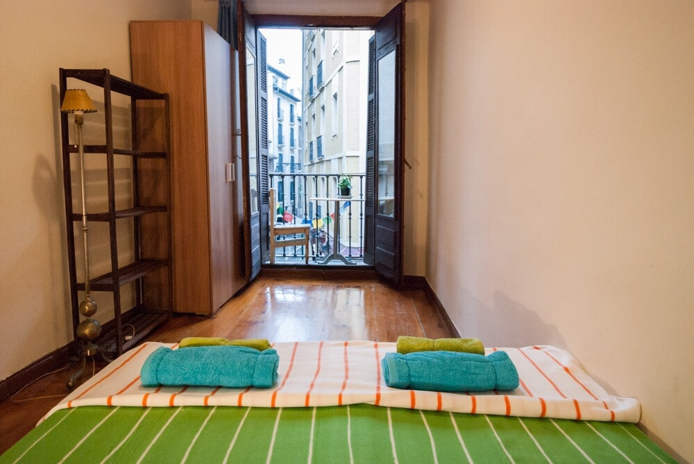 Double room2, Pamplona Old Town