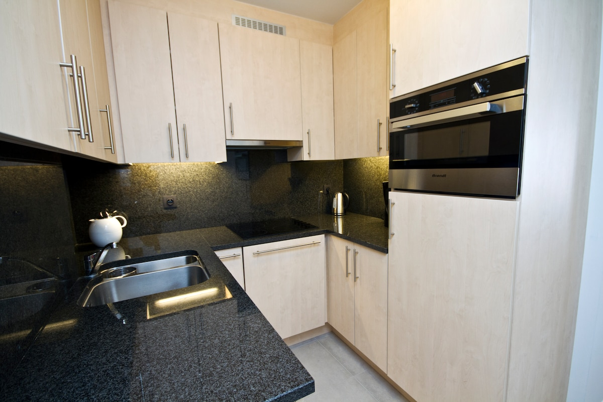 Small, but fully equiped kitchen