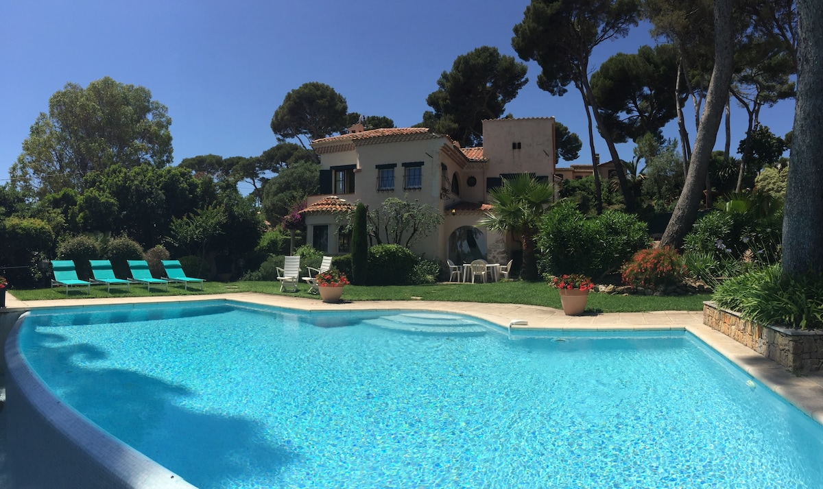 Cap d'Antibes 8 pax sea view + pool