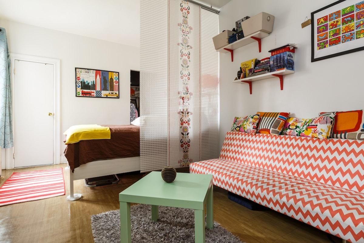 Cozy Studio for single or couple