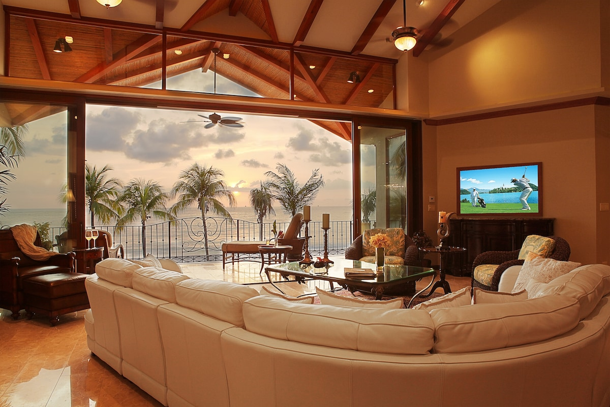 There is nothing like hearing the waves crash from your living room.