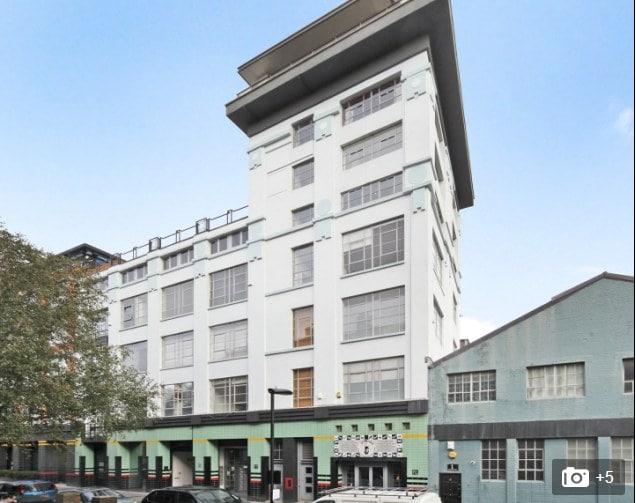 Spacious loft-style apartment