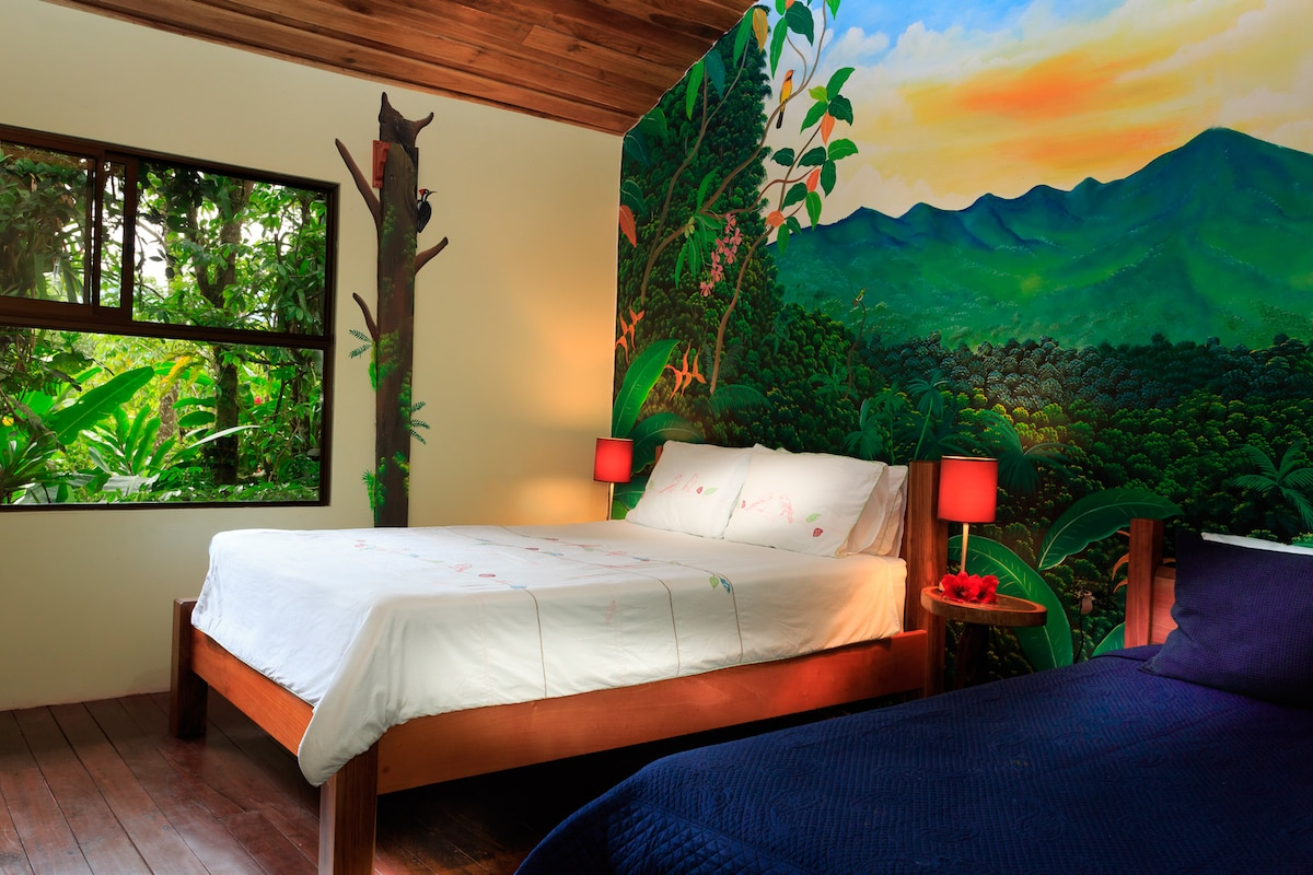 El Toucan Garden View Room