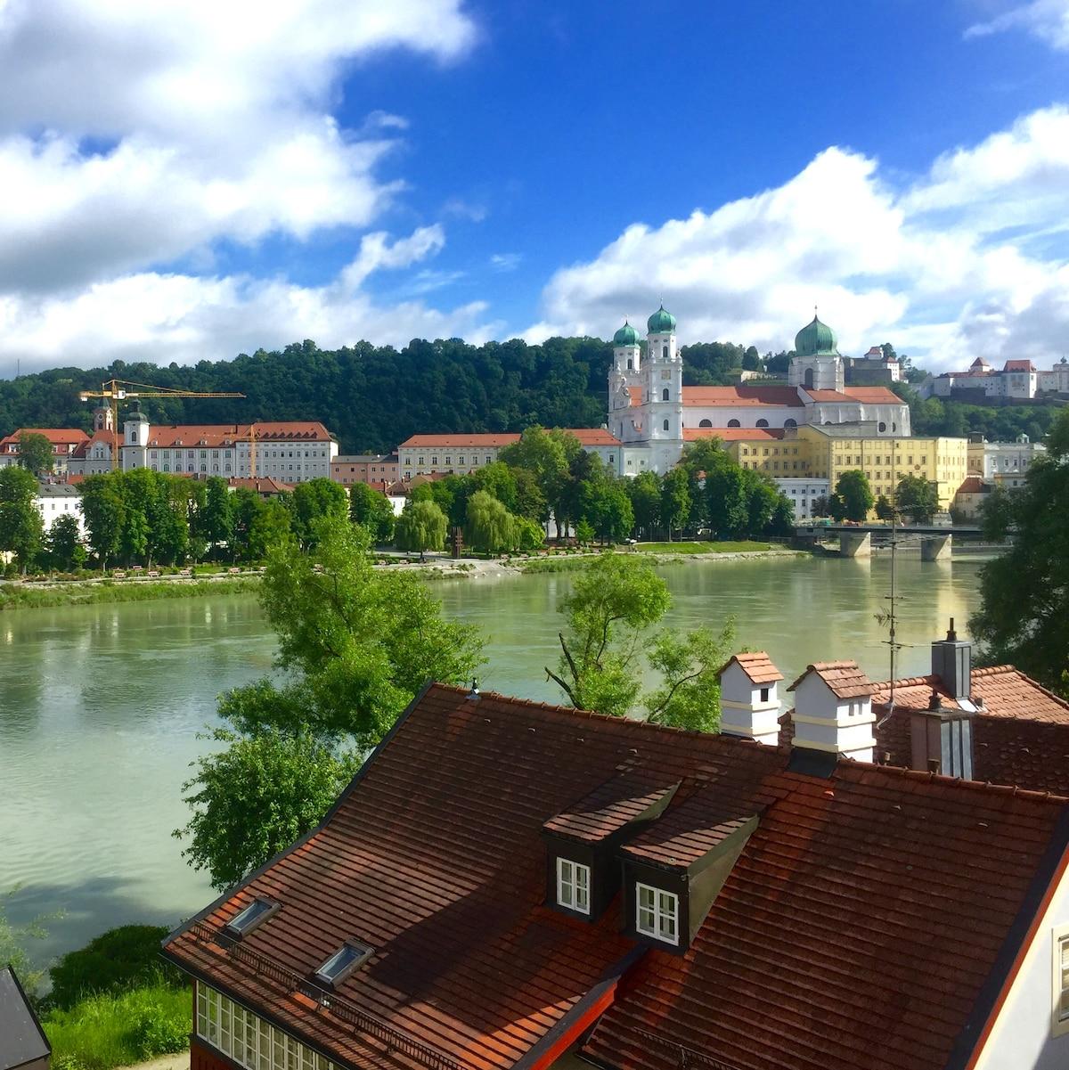 Apartment mit Blick über Passau