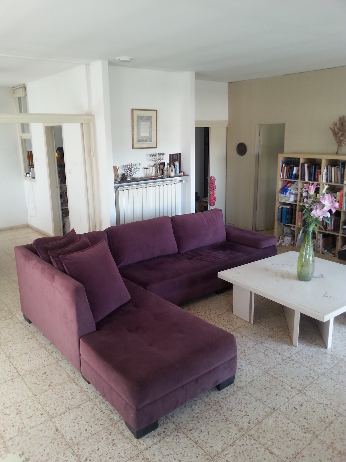 4 BR Central,Sunny, Family Size Apt