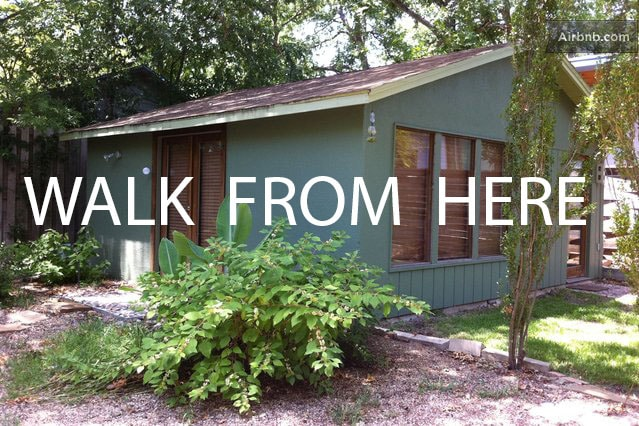 Located right downtown, near the river, parks, entertainment.  No car needed.