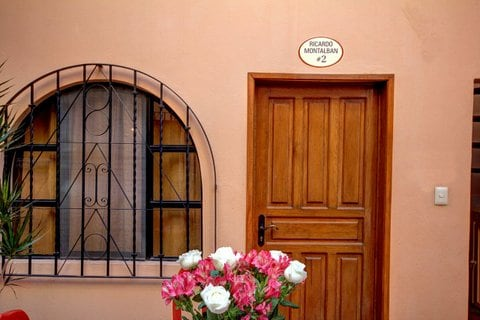 The lovely entrance