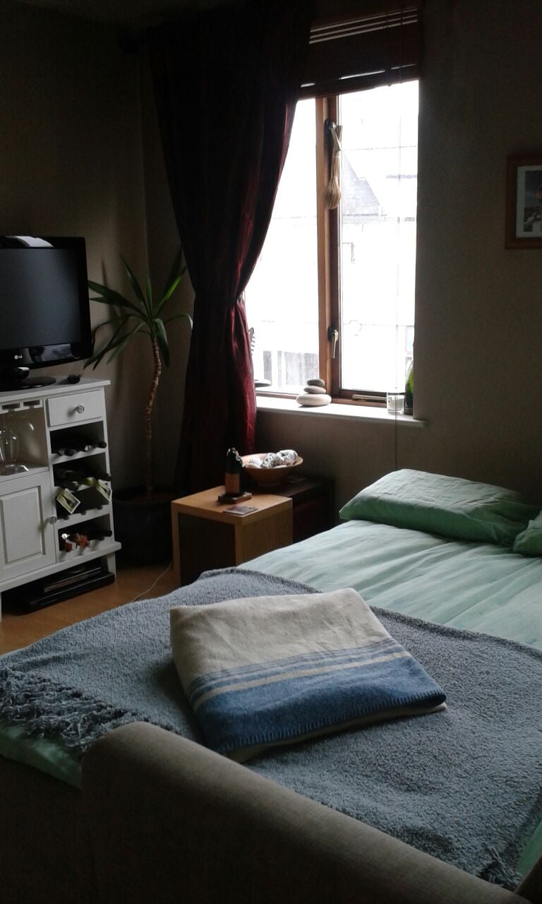 One bed studio in city centre