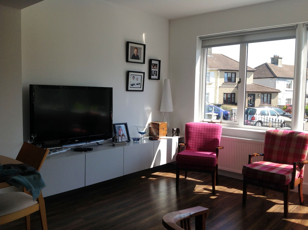 Modern 2 bed house in Glasthule