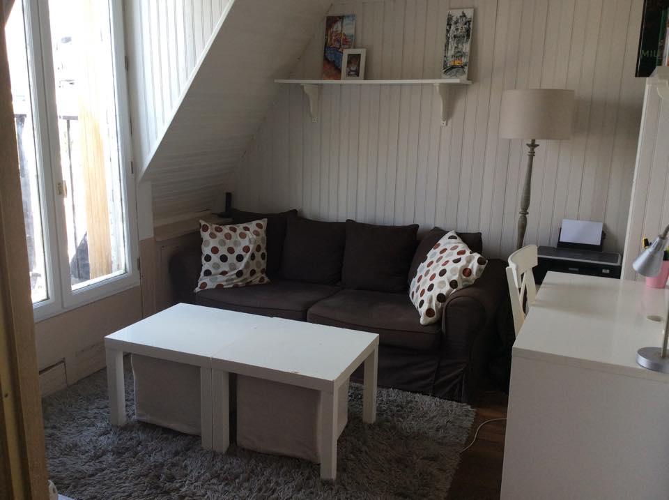 Two-room apartment near La Seine
