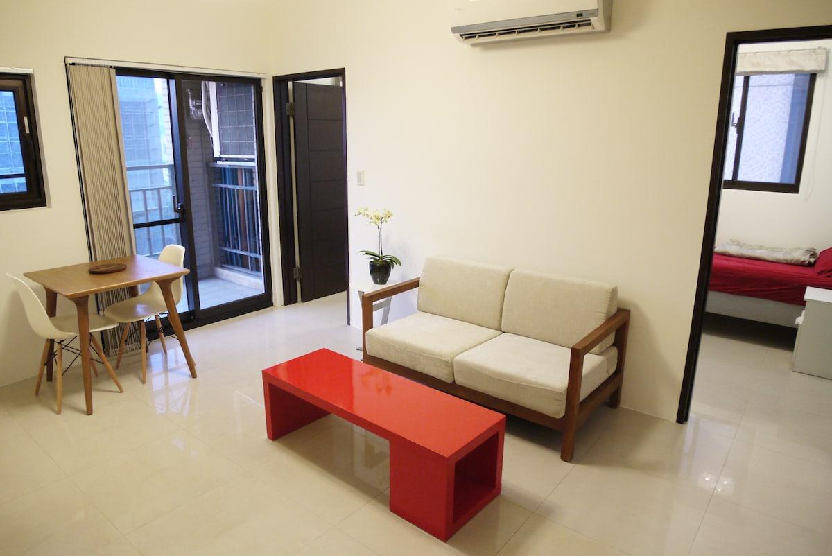 Fancy Apartment Near Shilin 士林精致兩房
