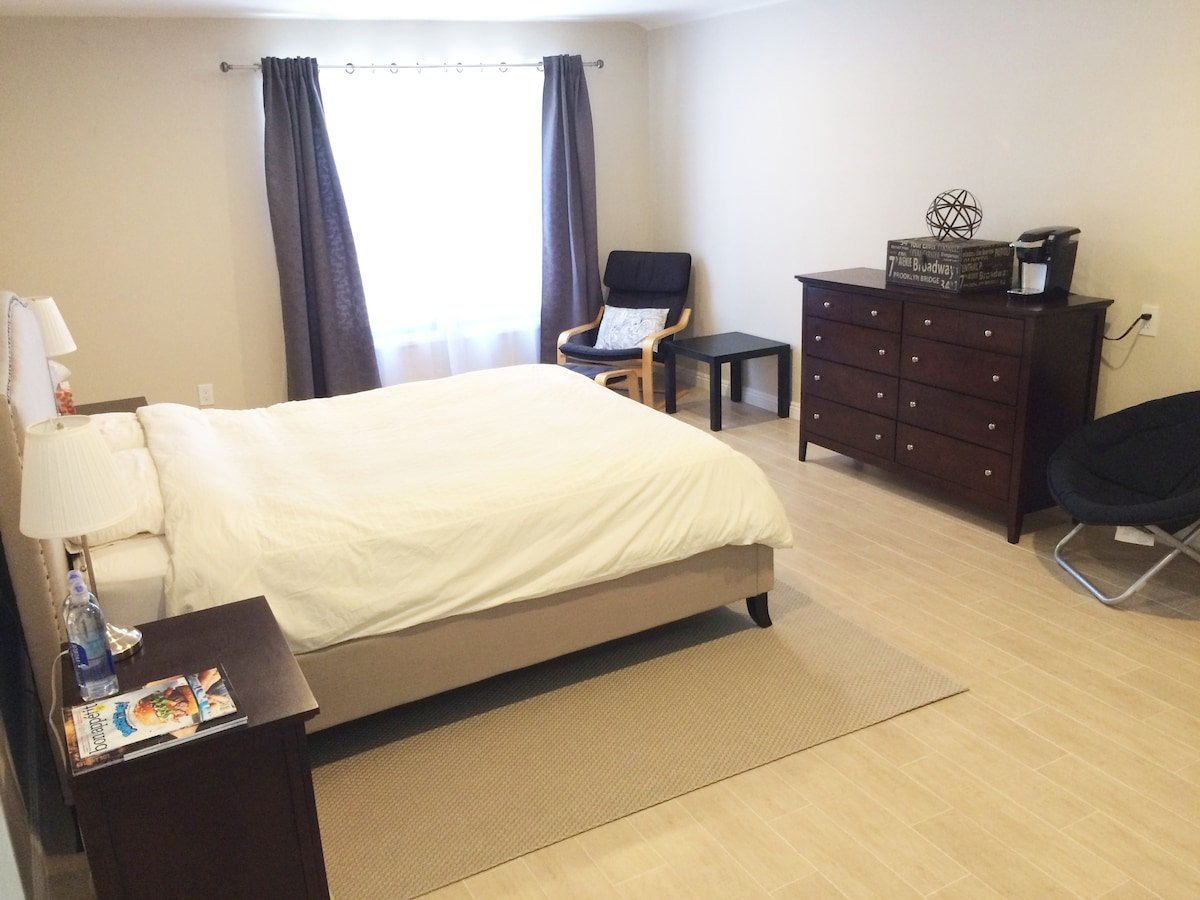 Newly renovated bedroom suite!