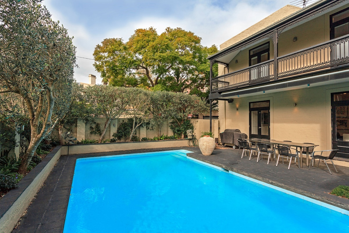 Luxury Home in Paddington with Pool