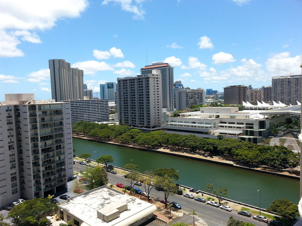 Convenient Waikiki Location