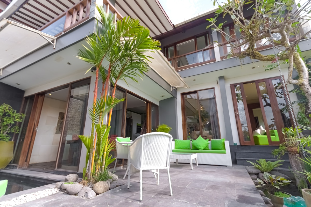 Villa Naree, my two bedroom house.