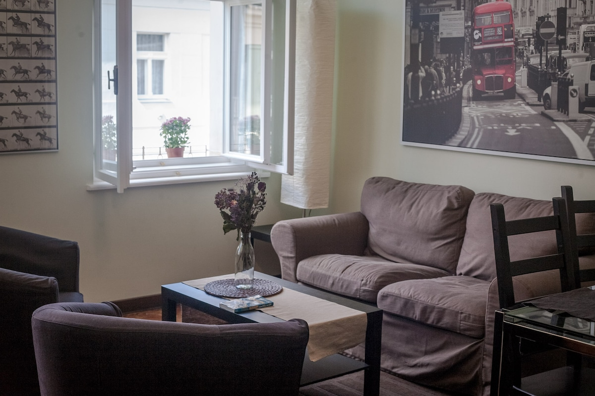 Elegant holiday flat in centre