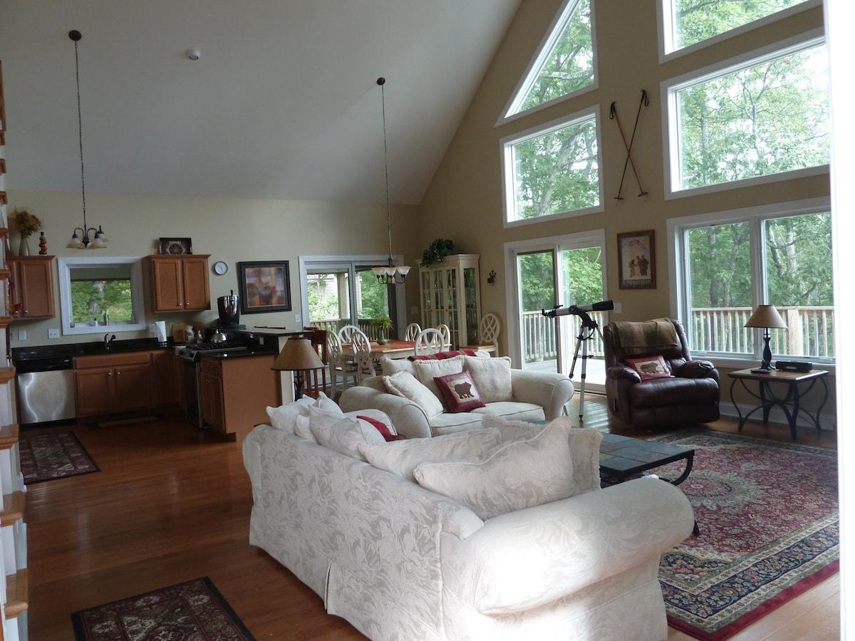 Living area on main floor. Very spacious.