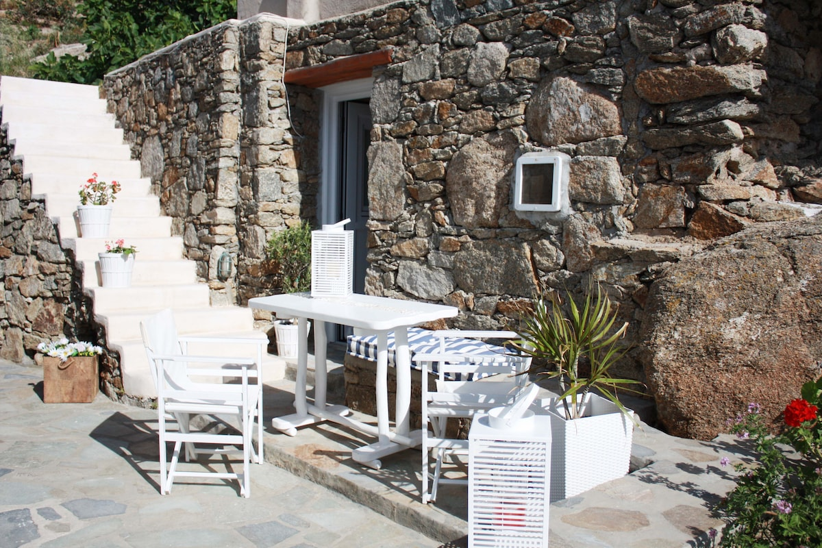 Mykonos-centre, walking distance