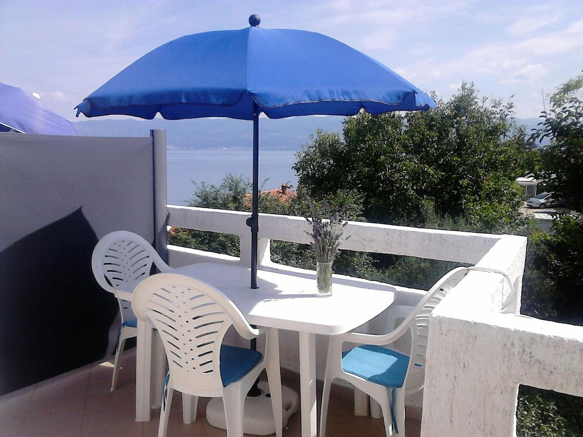 Sea view apartment.
