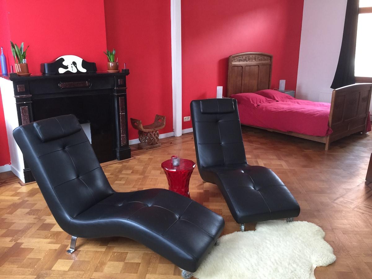 xl privé kamer in herenhuis