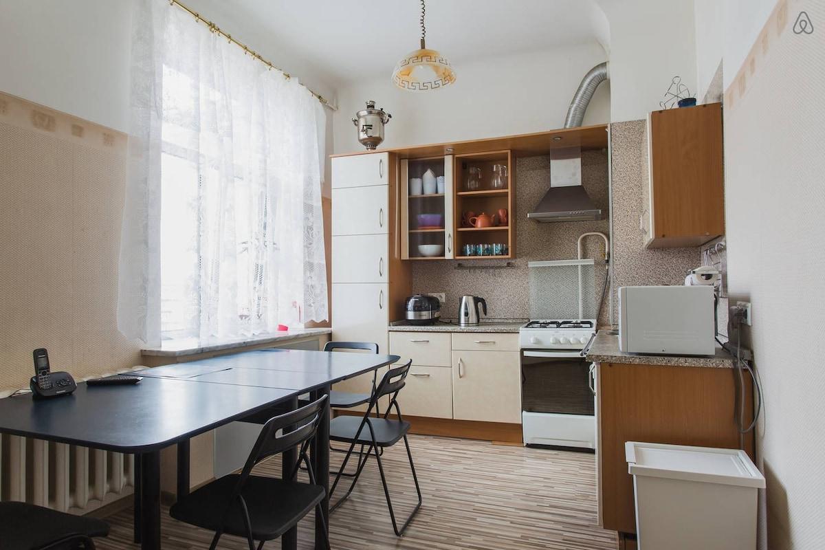 Уютная комната с красивым видом