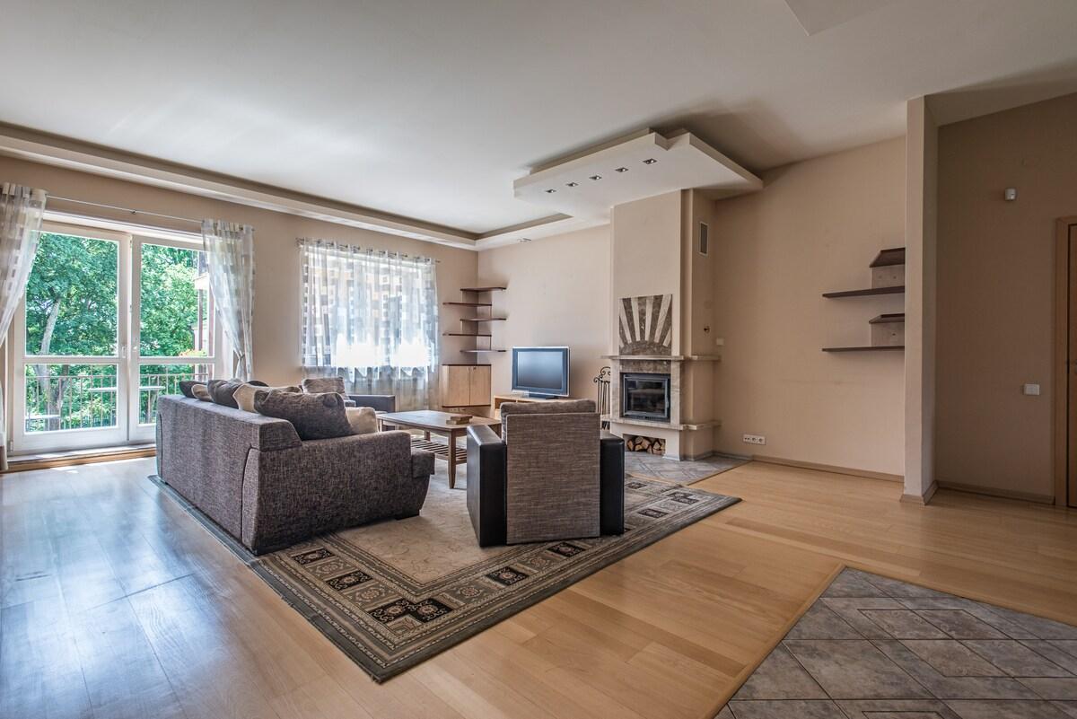 Pusu Apartment in central Vilnius