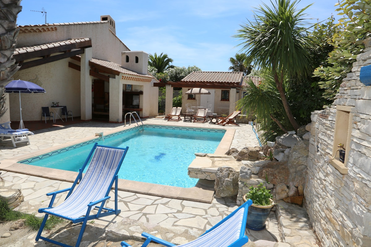 Villa méditerranéenne avec piscine