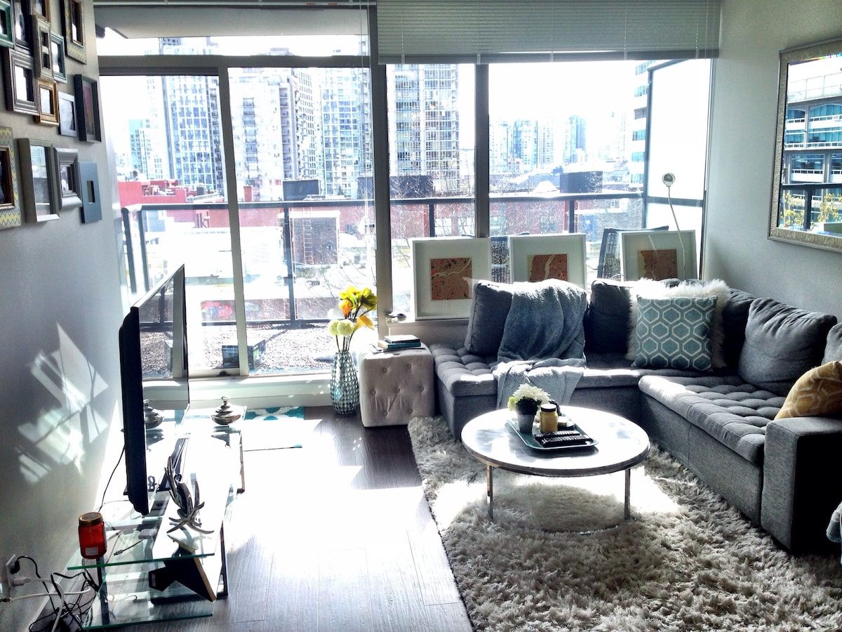 Brand new apt in heart of downtown