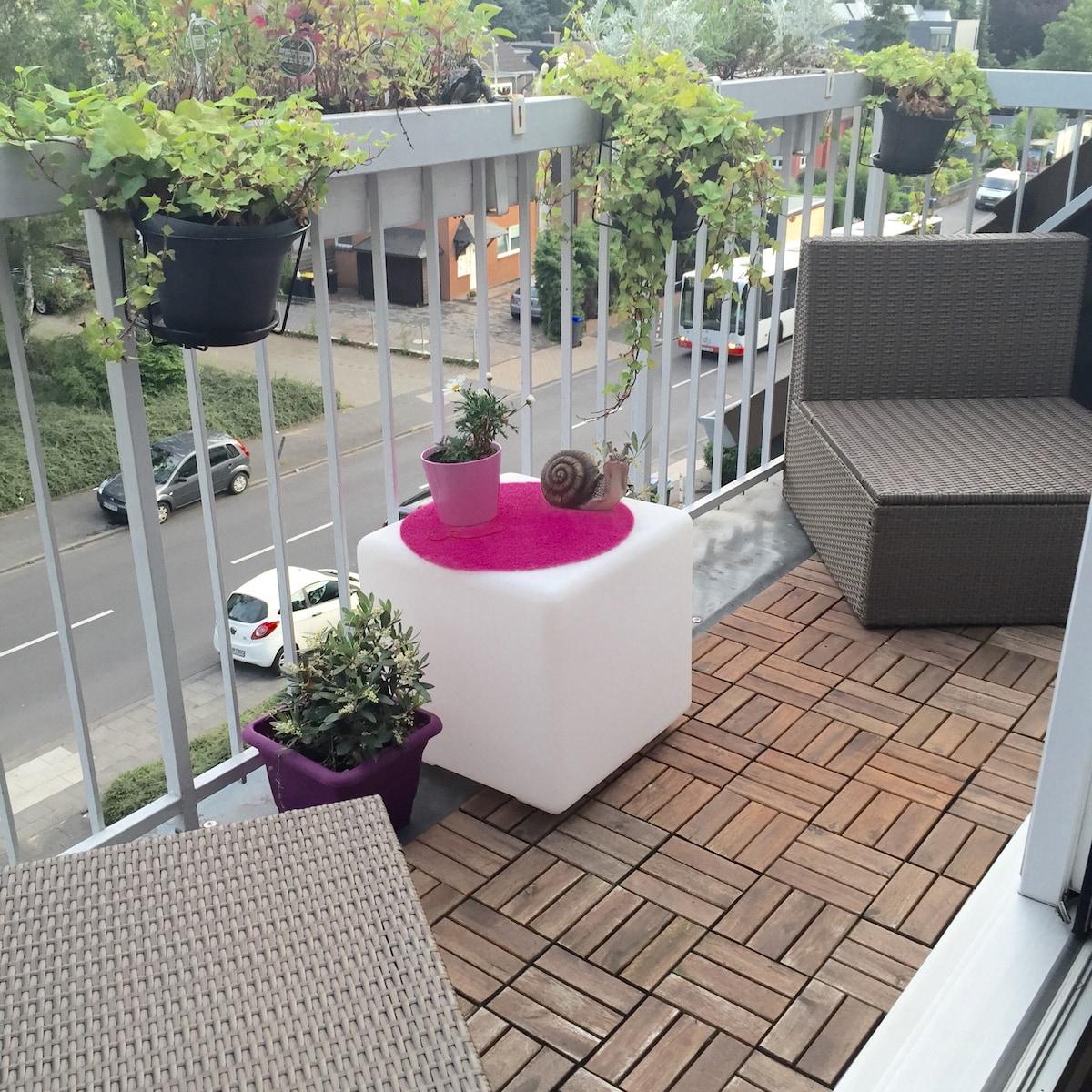 Helle Wohnung im Süden Kölns