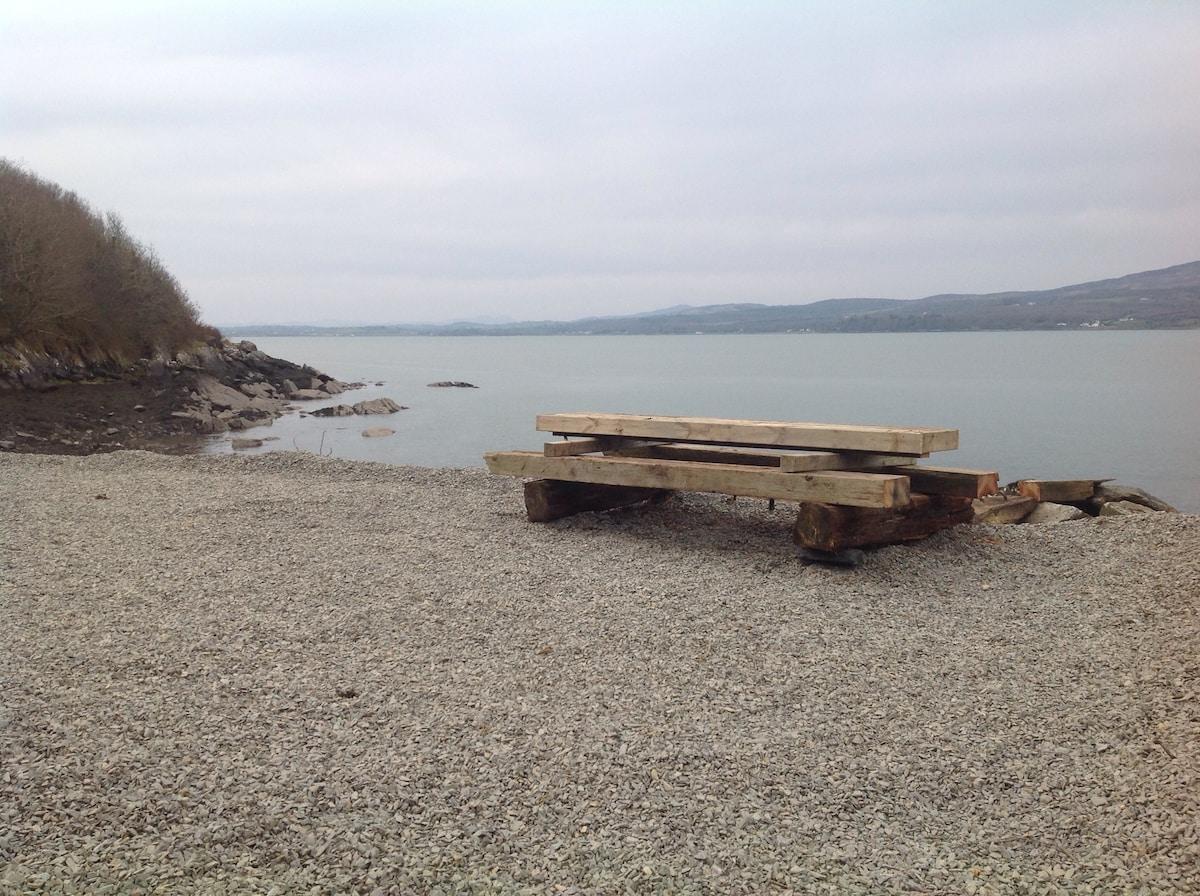 Fort Bay beach, Inch Island,