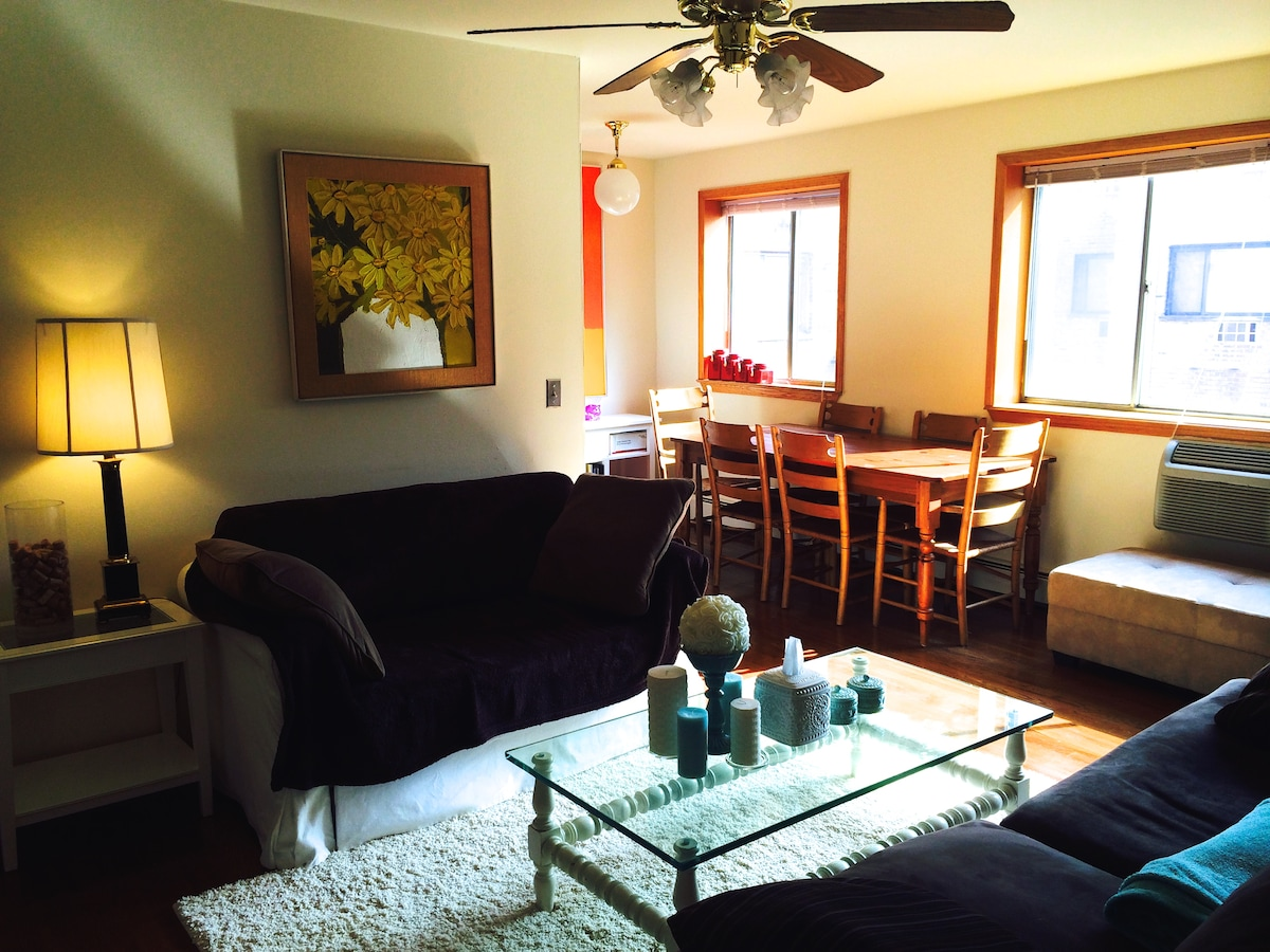 Bright and Tidy 1Bd Lincoln Park