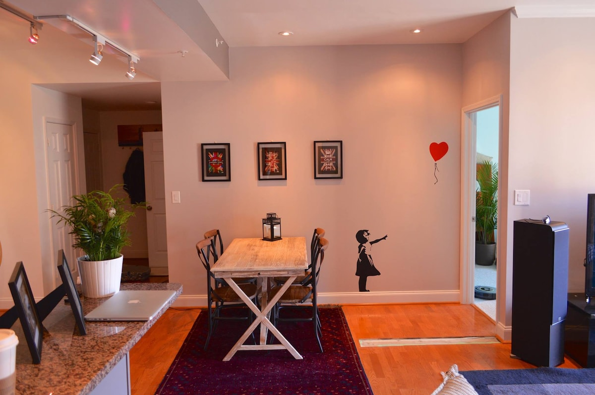 Modern smart home Midtown location!