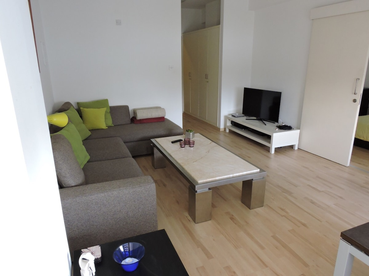 Spacious 1-bed flat in Limassol