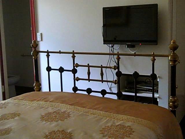 TV, Video/DVD player in bedroom