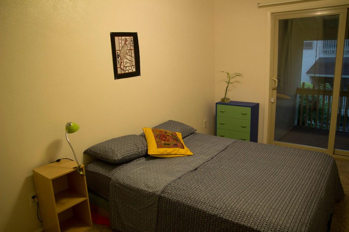 Comfortable private bedroom!