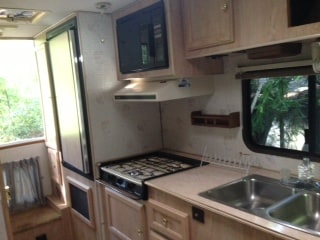 RV for Rent in a beautiful property