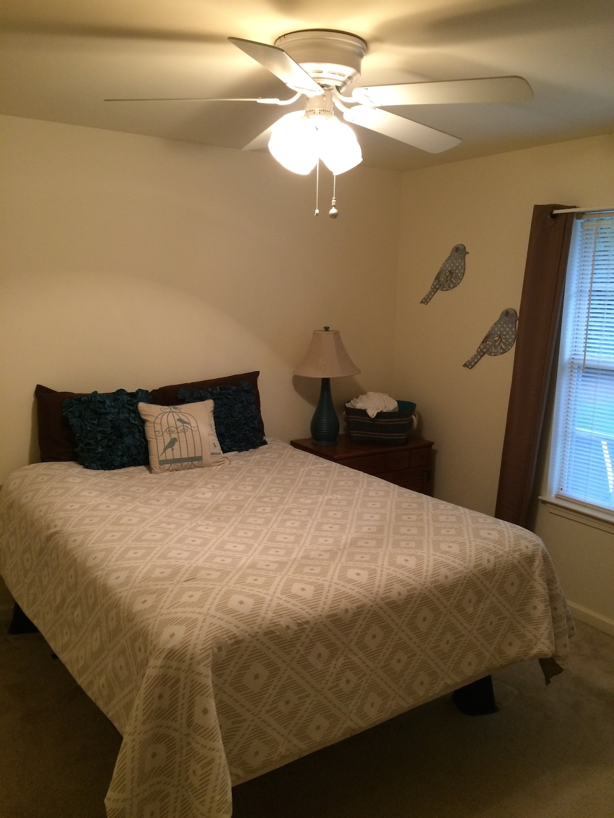 Private bed and bathroom in clemson