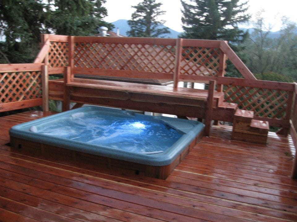 New Deck & Hot Tub Views of Front Range ~ Pikes Peak ~ Phases of the Moon