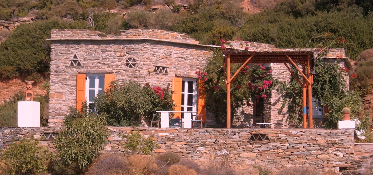 Andros, cyclade, smart holidayhouse