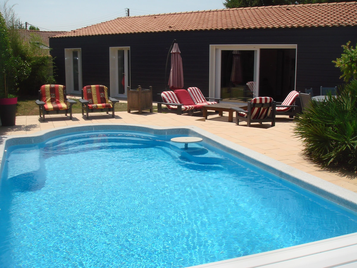 Acces direct jardin et piscine