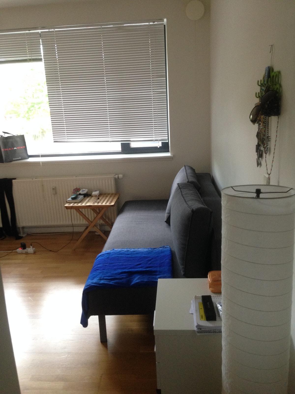 Studio-apartment, amazing location