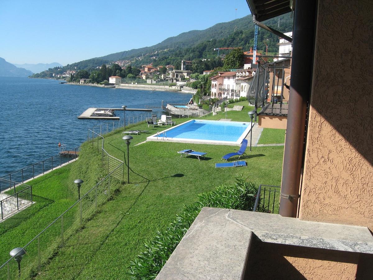 Romantico appartamento sul lago