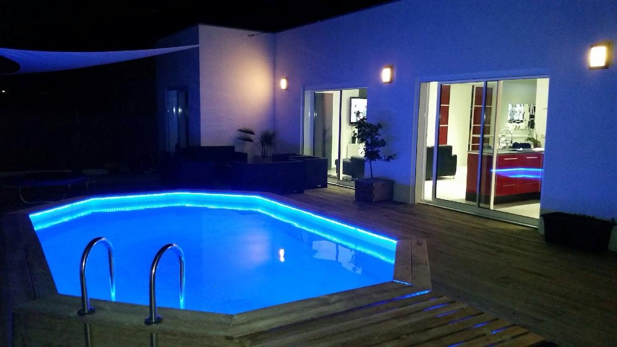 PROMO Villa piscine 3 chambres Agde