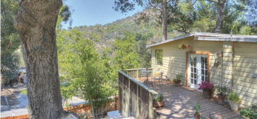 Topanga cottage w/ guesthouse,+land