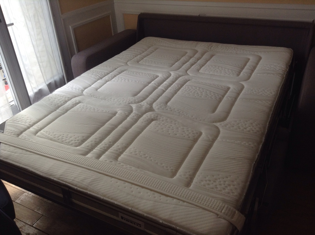That's the high-quality mattress.